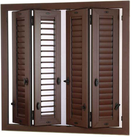 Persiane arteall porte finestre in alluminio for Scuri in pvc prezzi
