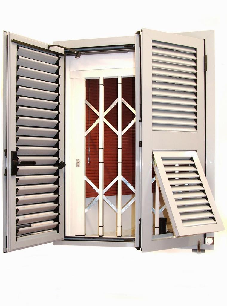 Persiane arteall porte finestre in alluminio for Persiane in alluminio bricoman